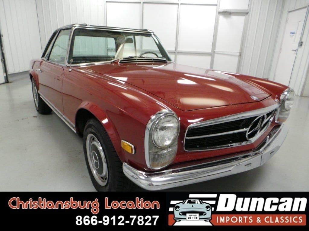 1968 mercedes benz 280 280sl