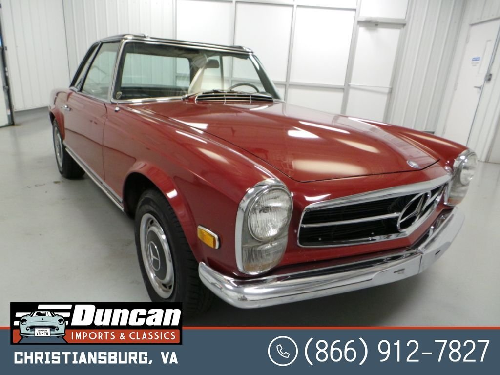 1968 mercedes benz 280 280sl