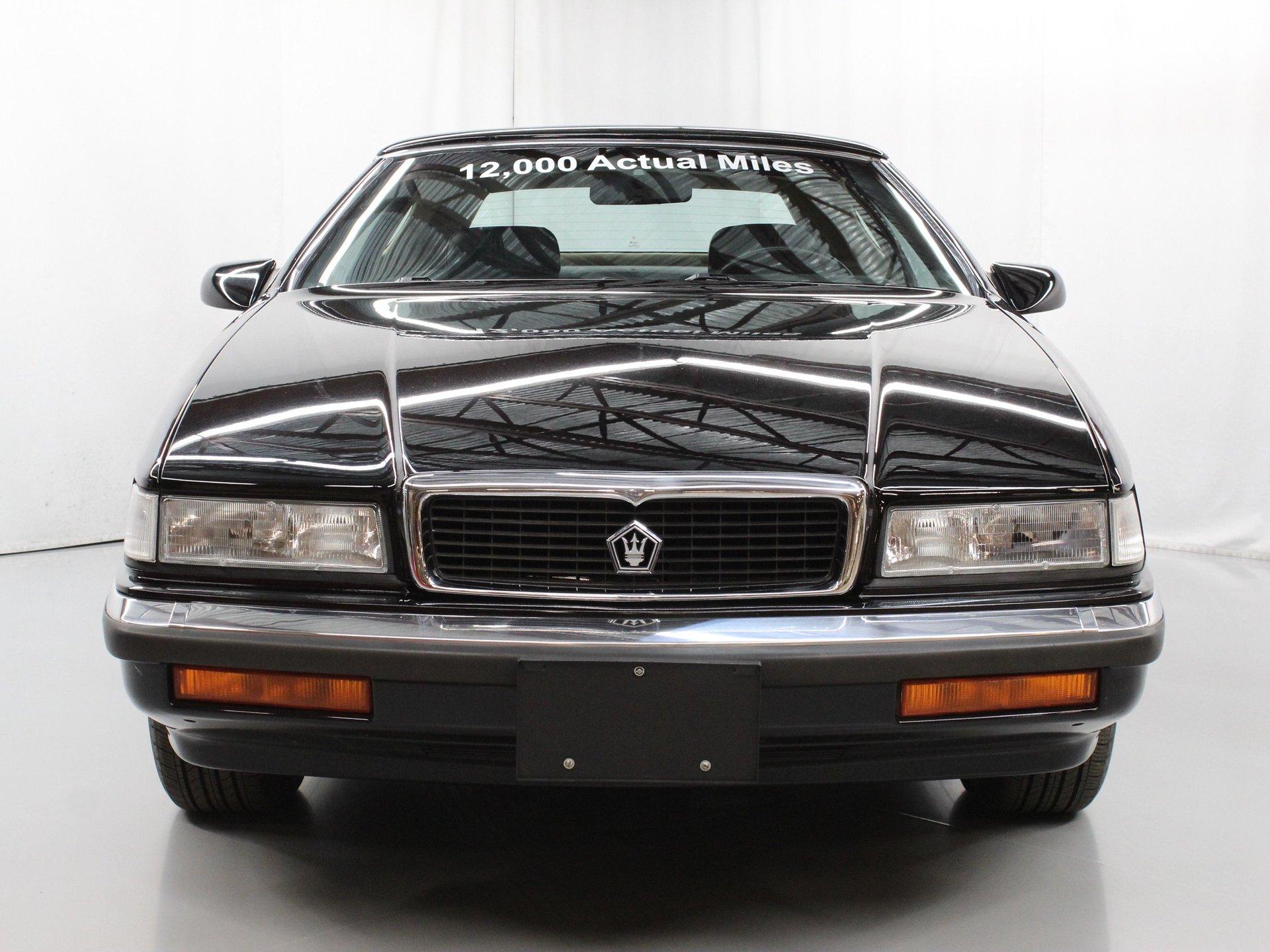 1991 Chrysler TC Maserati