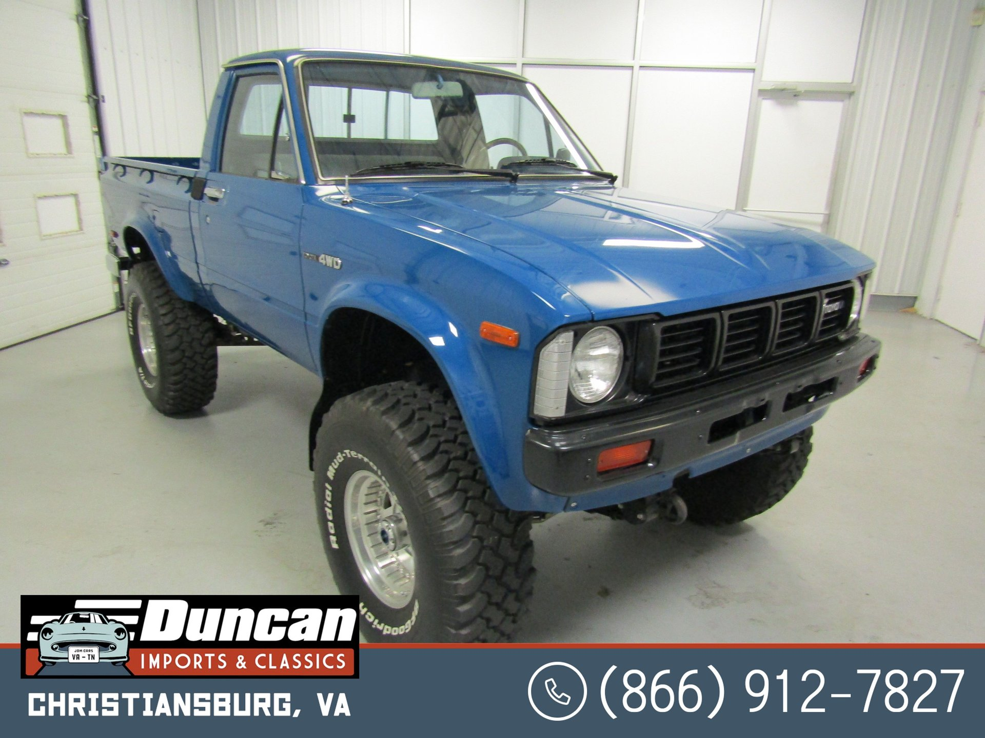 1980 toyota hilux 4wd