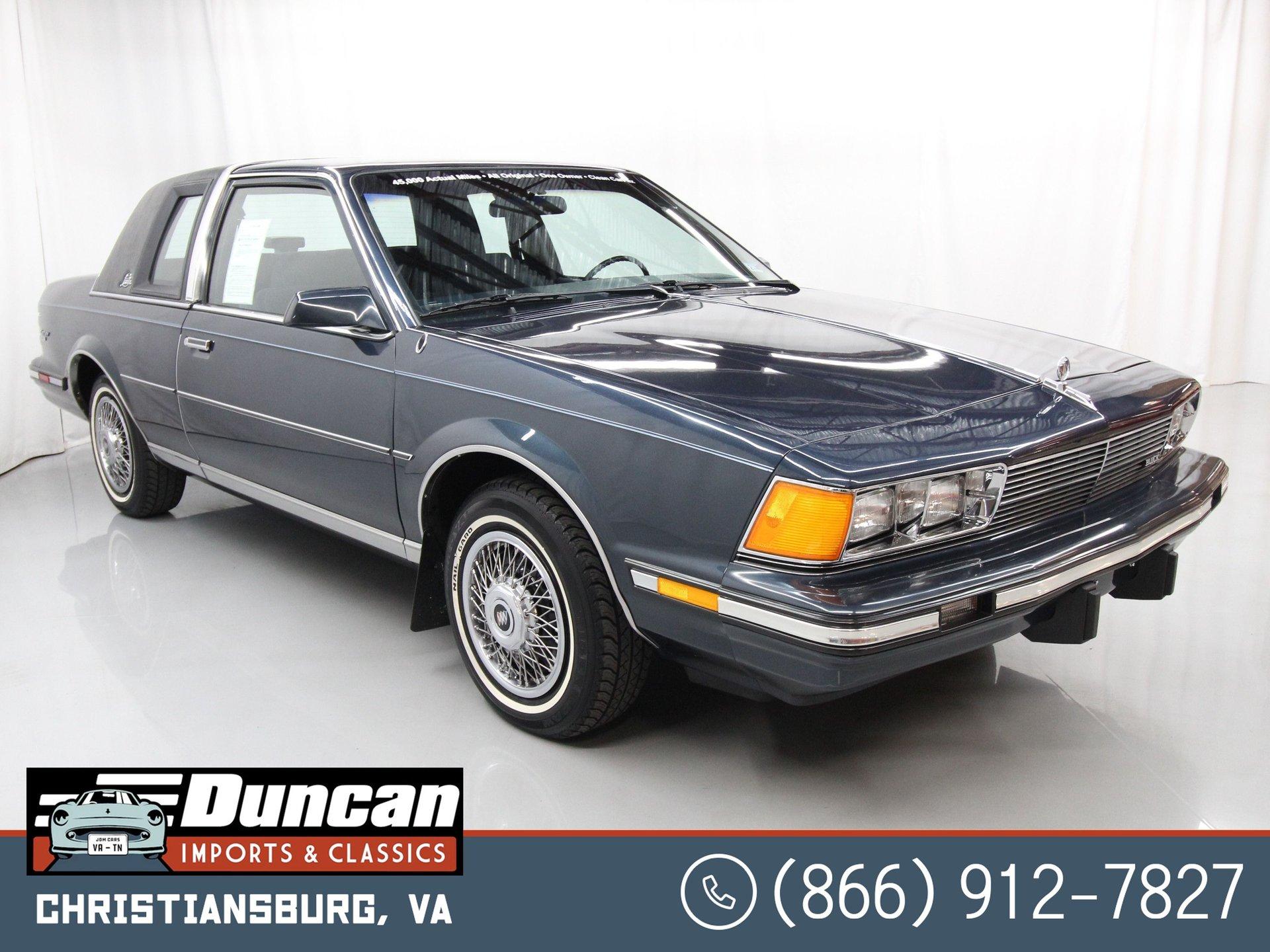 1987 buick century landau