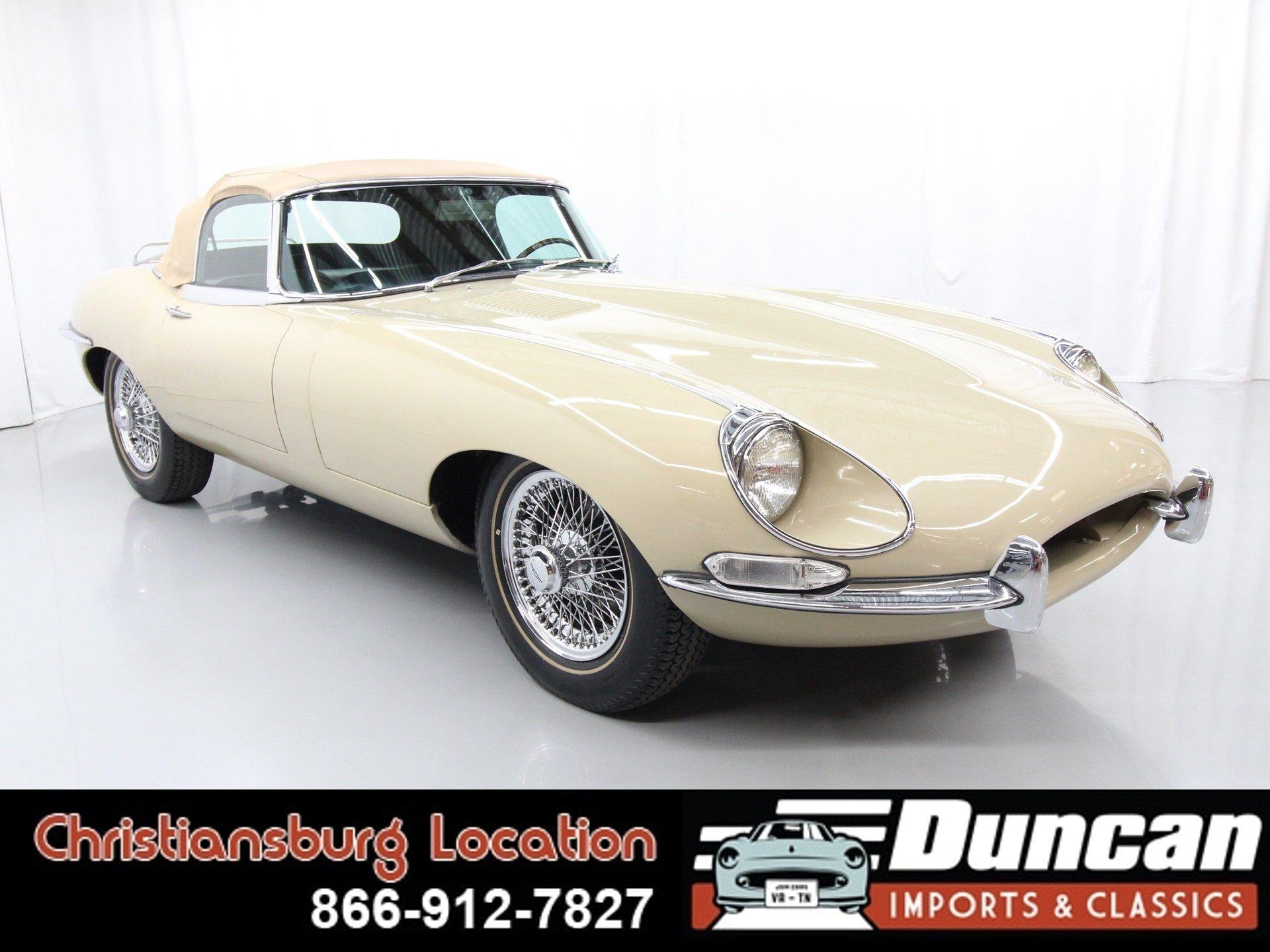 1968 jaguar e type