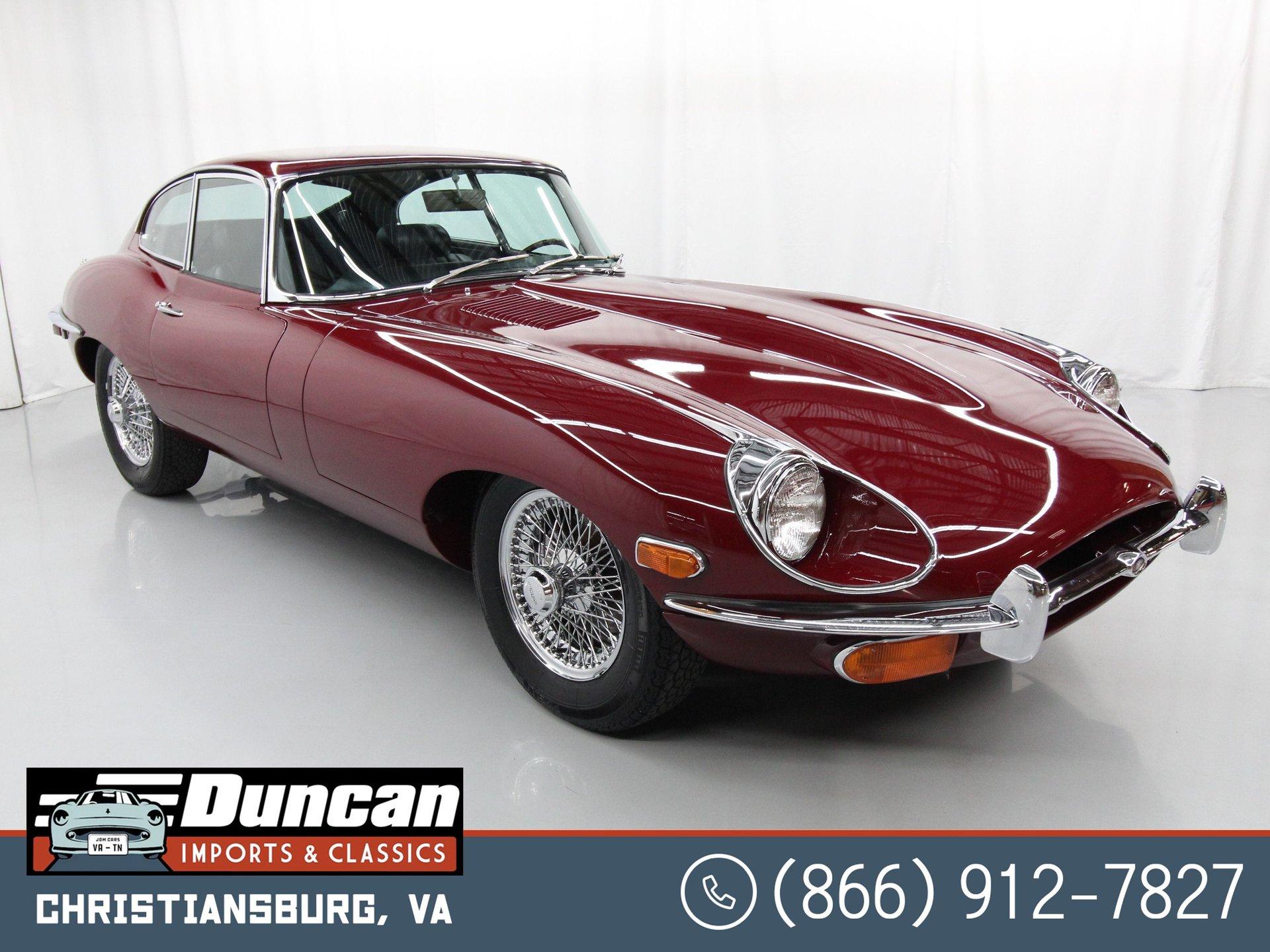 1970 jaguar e type series ii