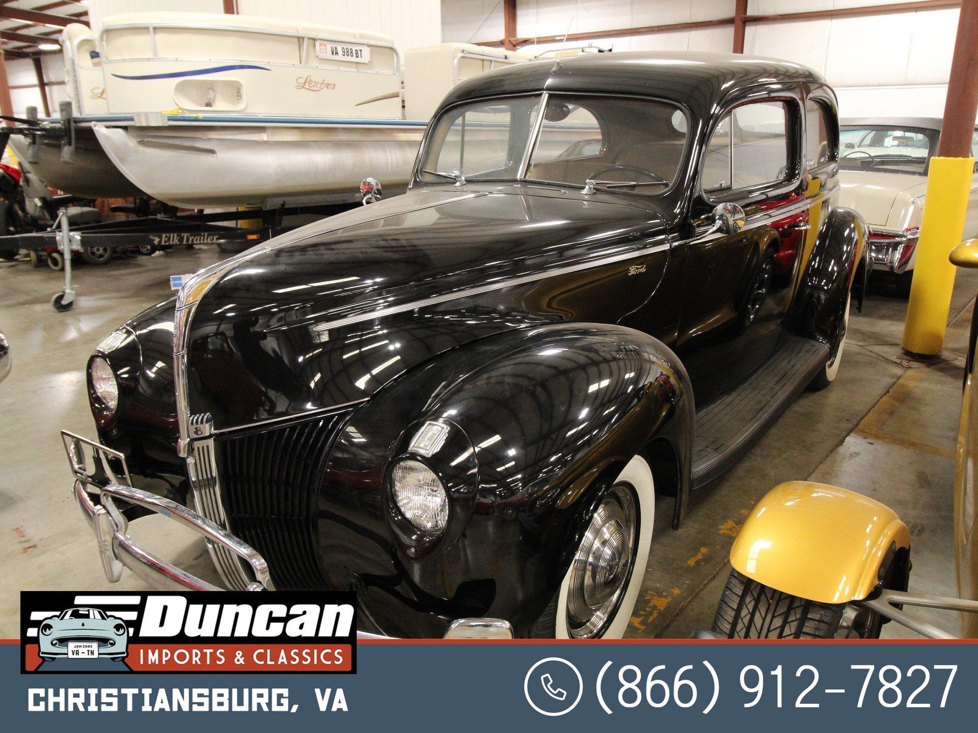1940 ford standard 2 door