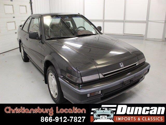 1989 honda accord import edition