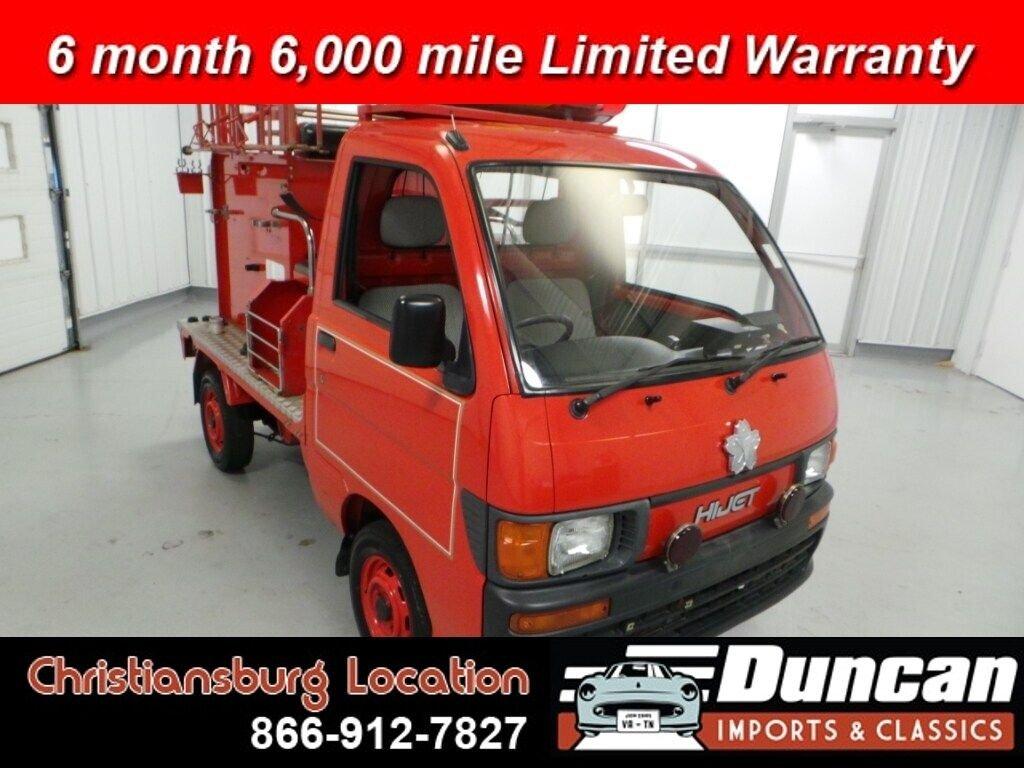 1996 daihatsu hijet firetruck