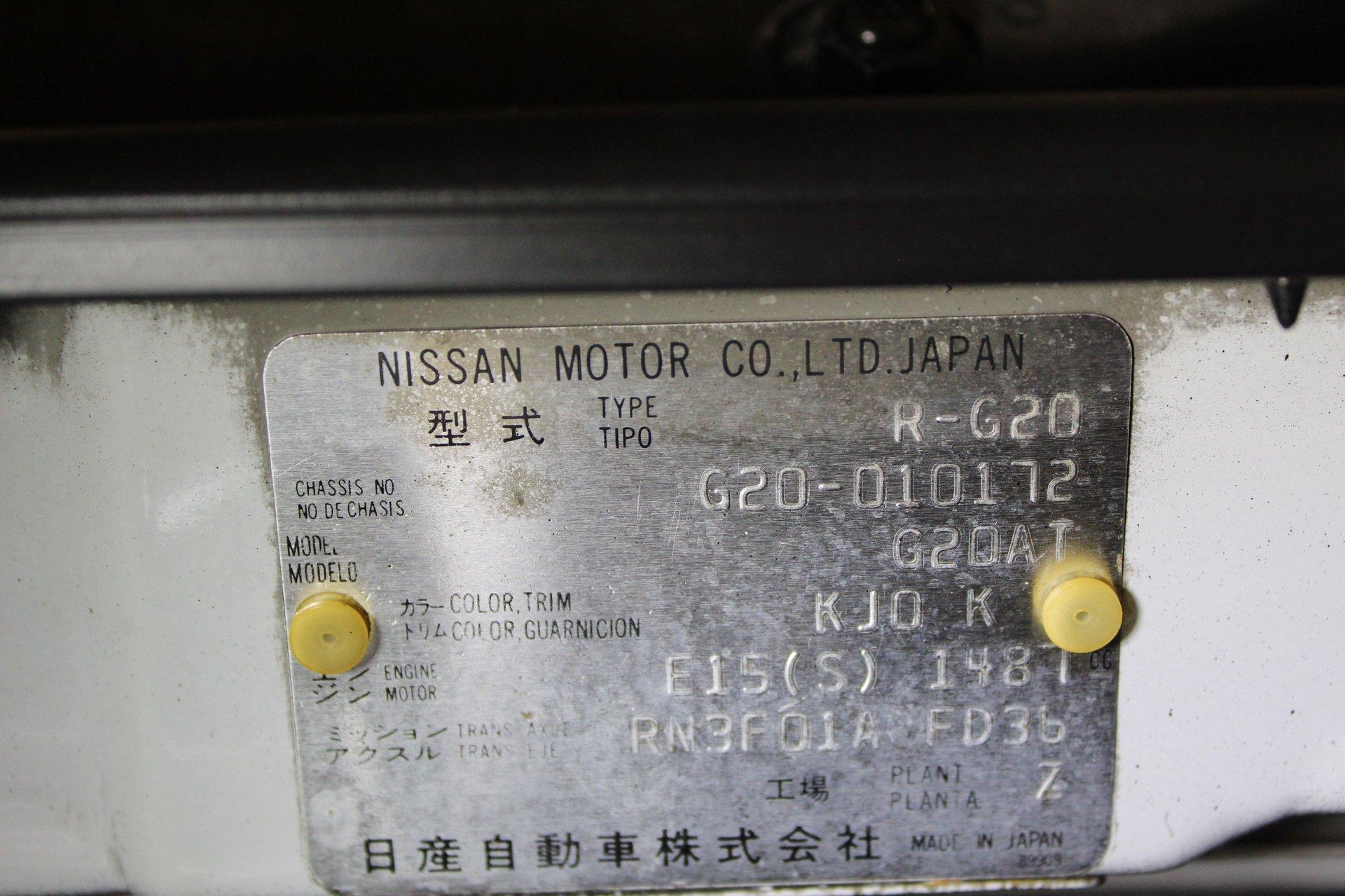 1990 Nissan S-Cargo
