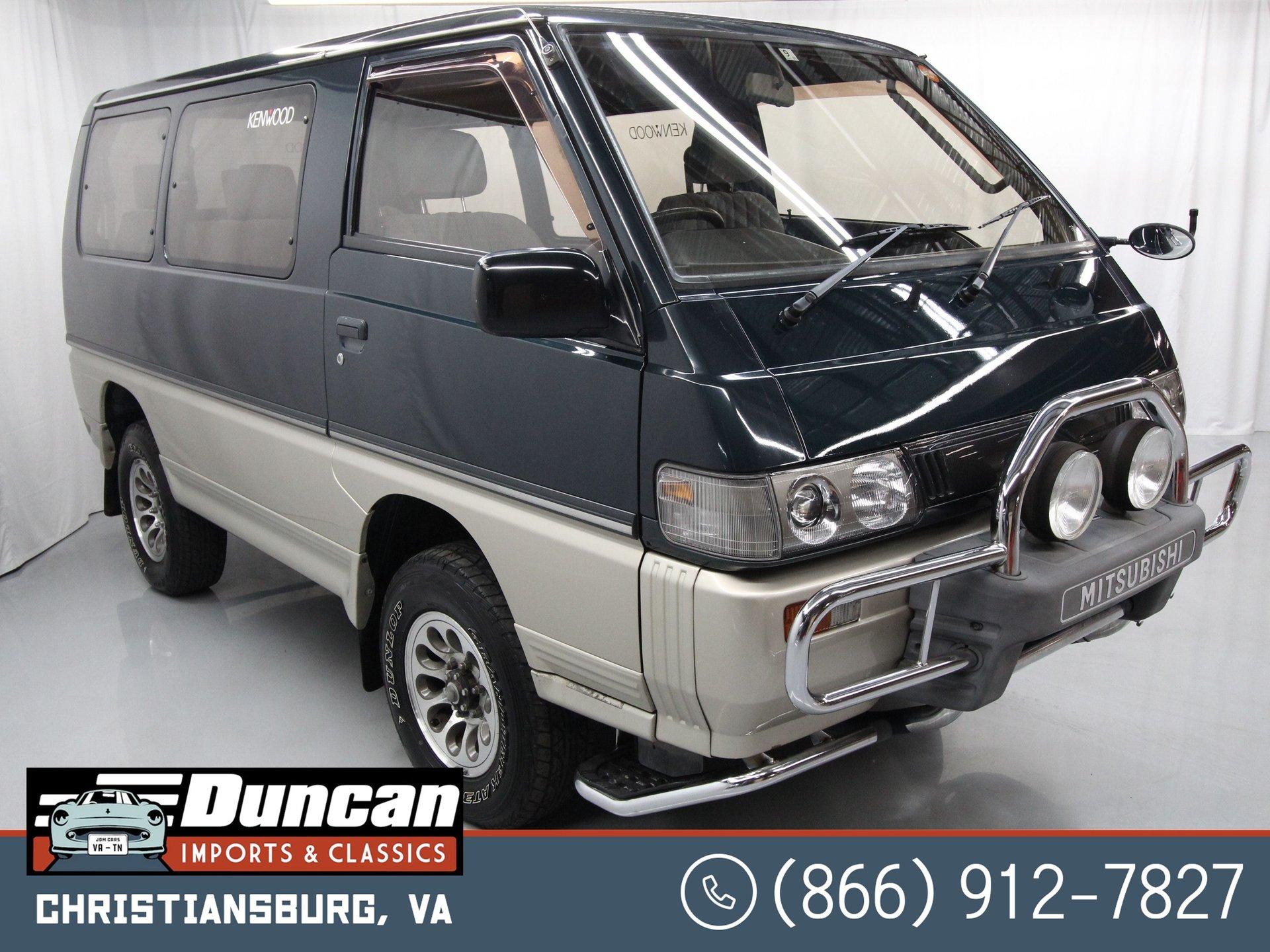 1992 mitsubishi delica 4wd