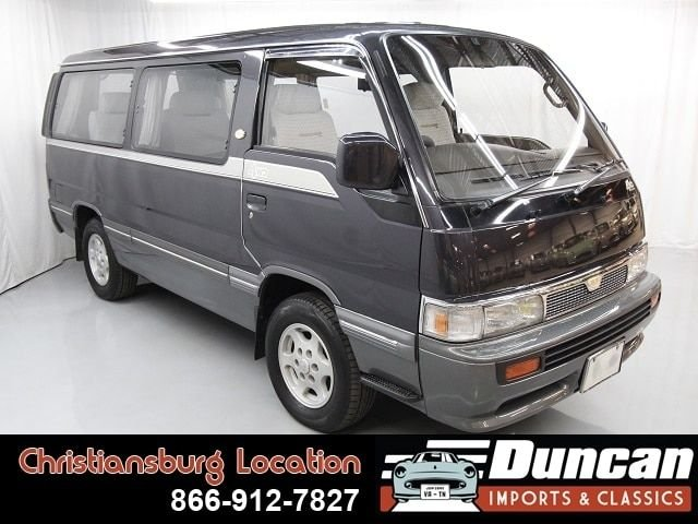 1992 nissan homy coach royal