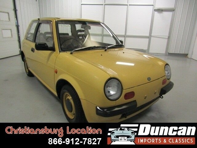 1988 nissan be 1 yellow