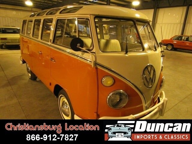 1964 volkswagen bus samba 21 window