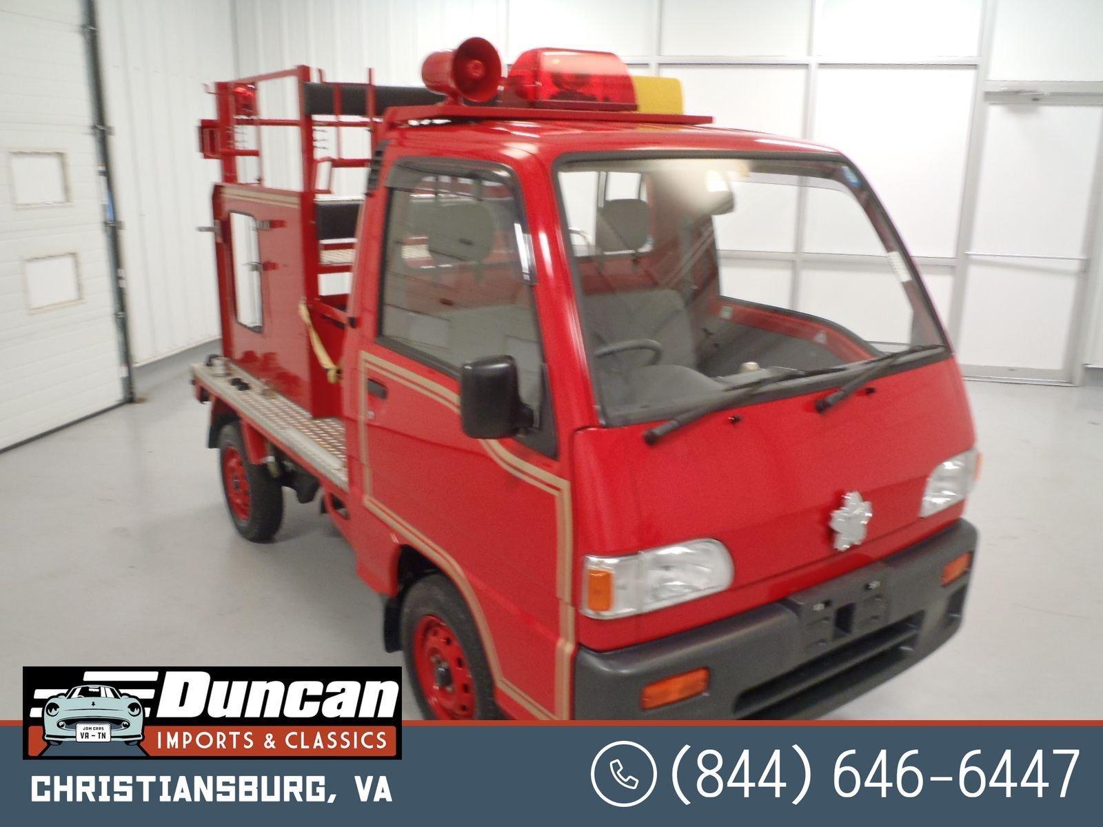 1994 subaru sambar firetruck 4wd