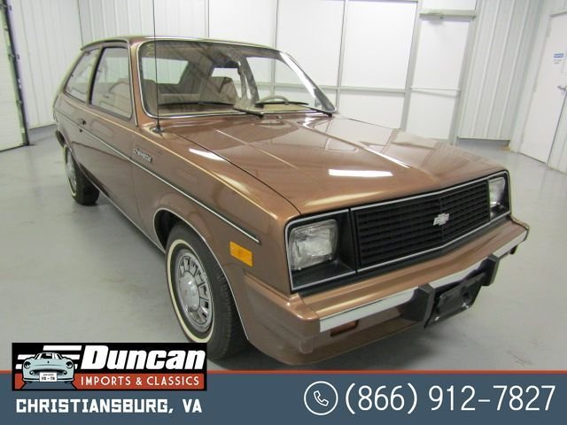 1985 chevrolet chevette cs