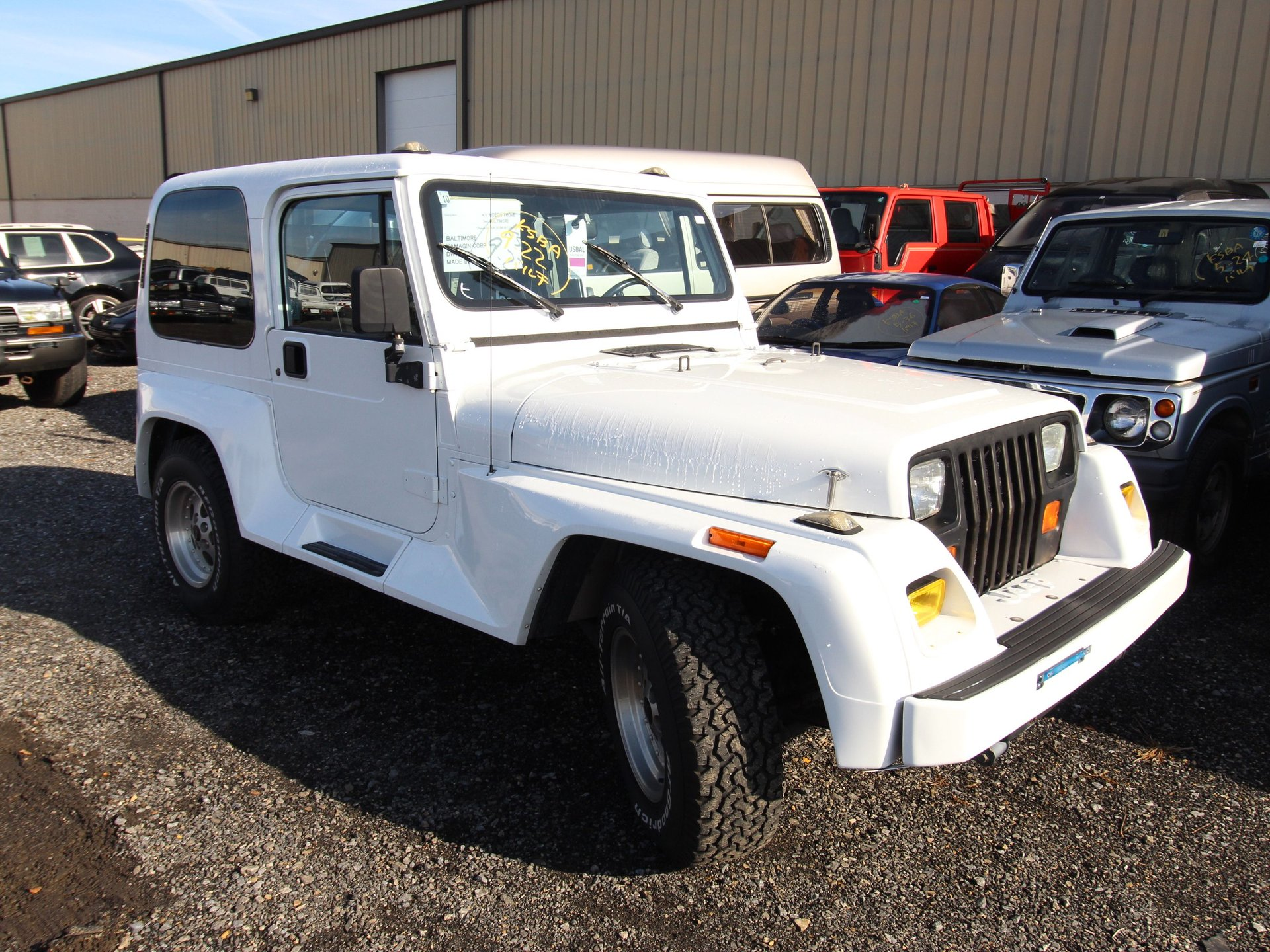 1993 chrysler jeep wrangler