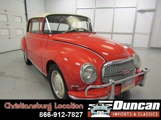1961 auto union 1000 s