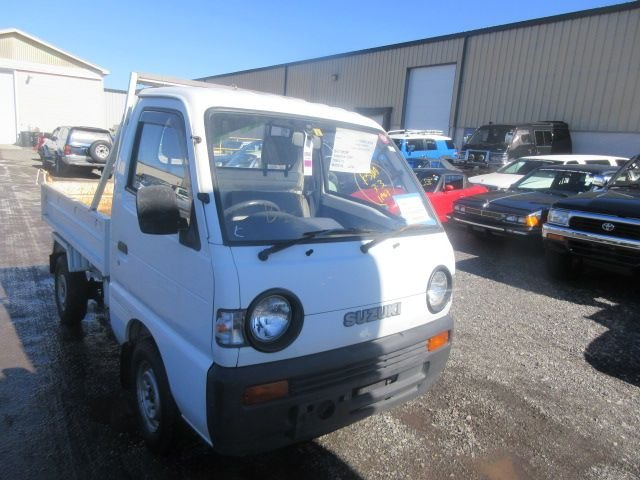 1995 suzuki carry dump bed