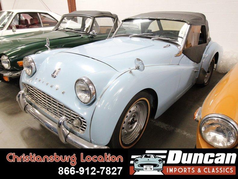 1963 Triumph TR3