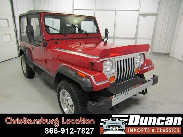 1987 jeep wrangler yj 4wd