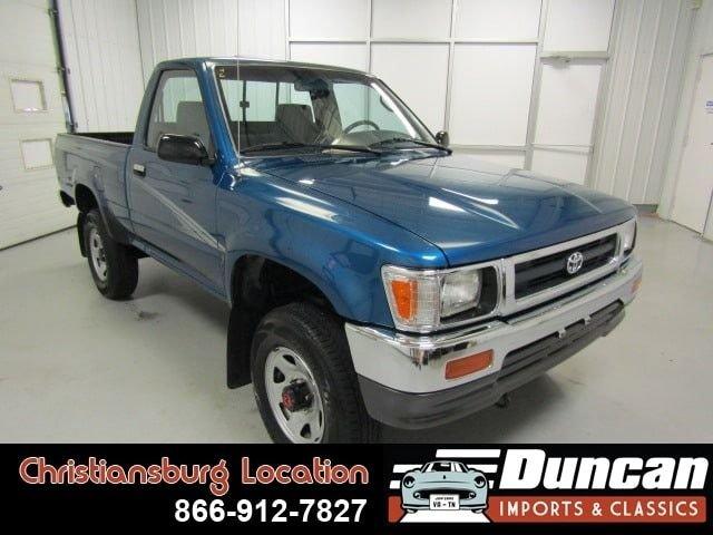 1994 toyota 4wd trucks dx