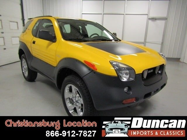2001 isuzu vehicross base 4wd