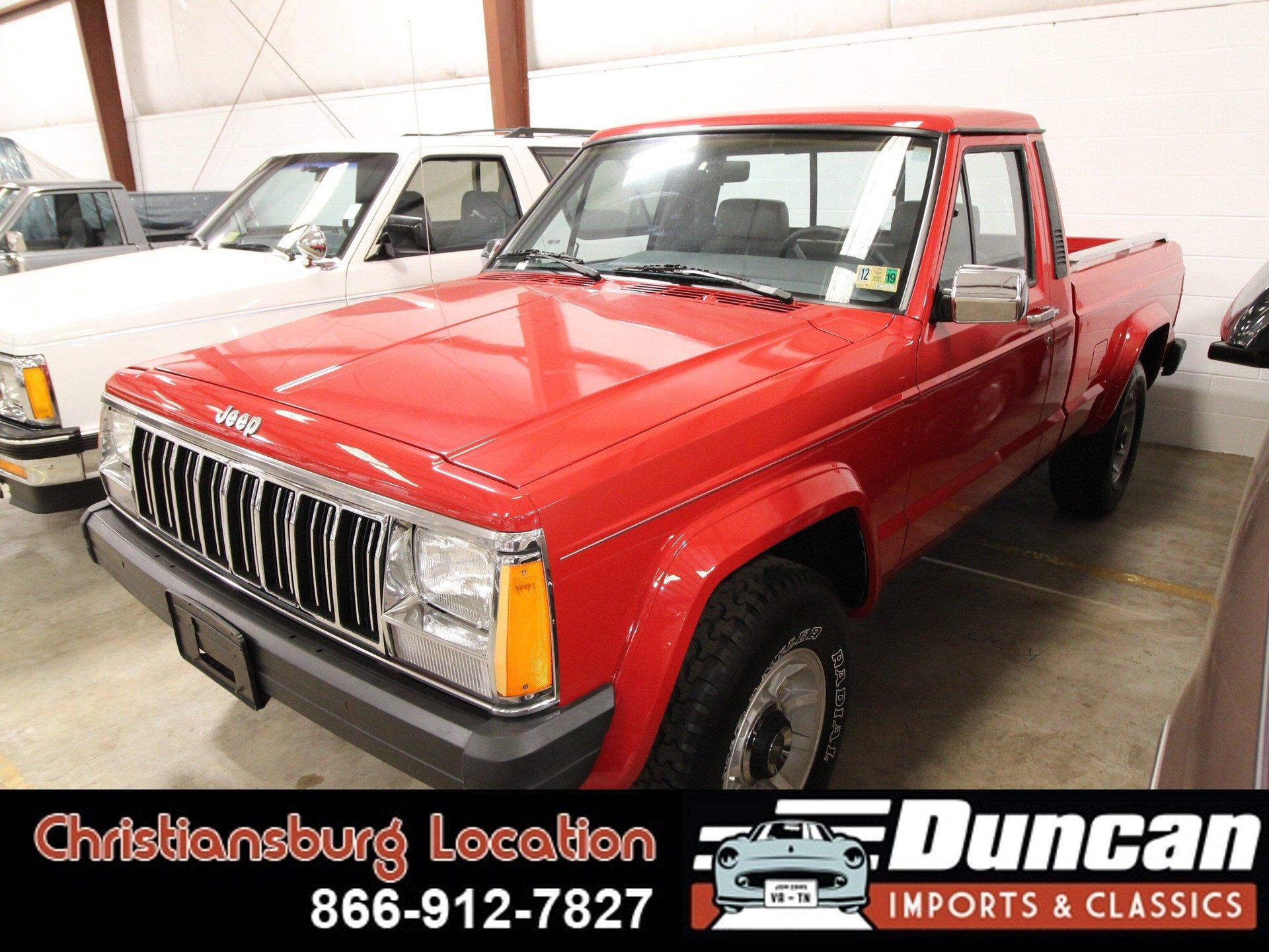 1990 jeep comanche