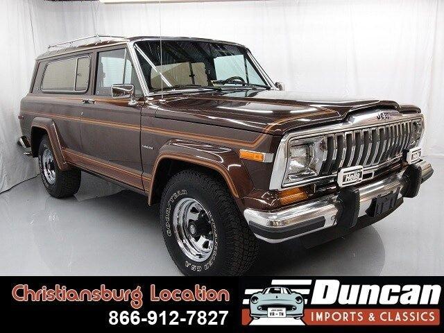 1983 jeep cherokee laredo 4wd