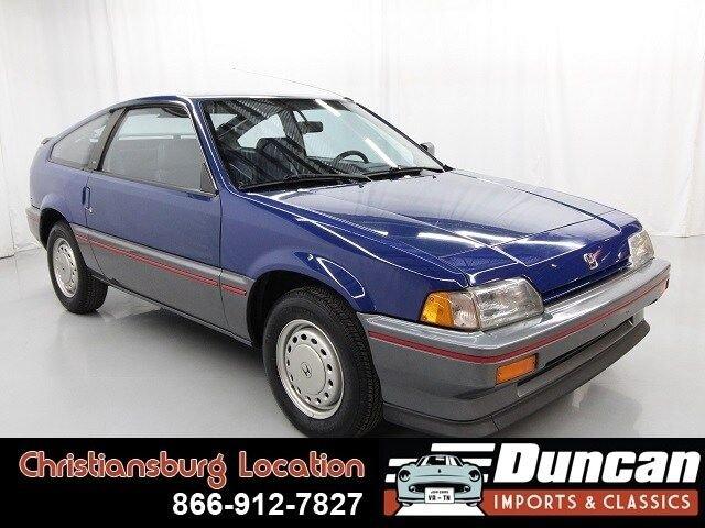 1986 Honda CR-X