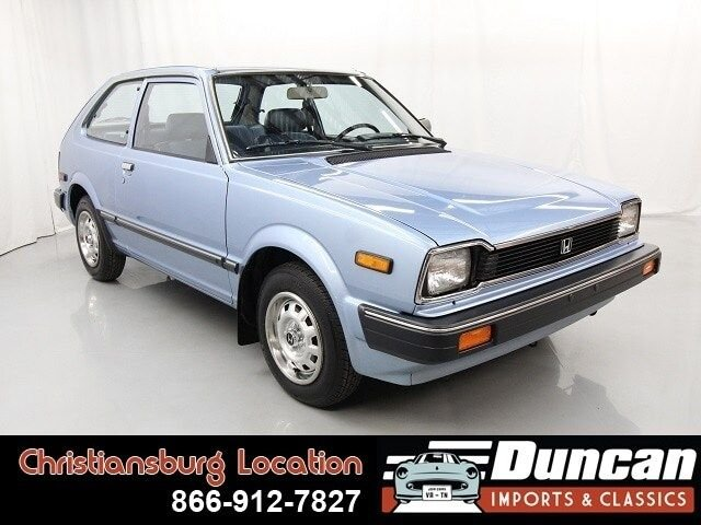1983 honda civic 1500 dx