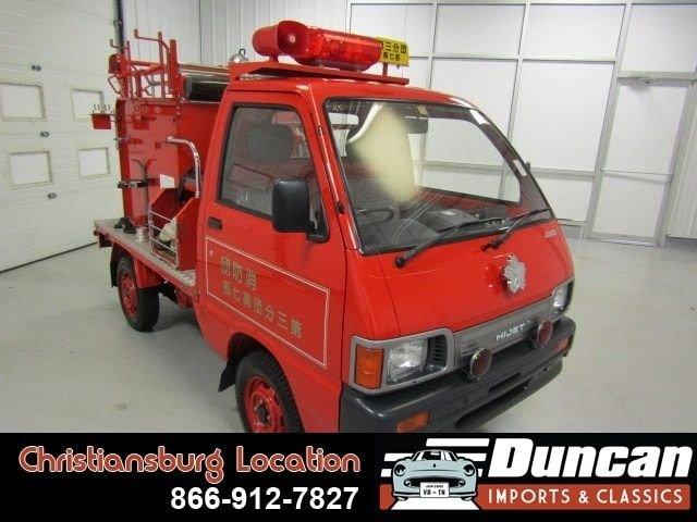 1993 daihatsu hijet firetruck 4wd
