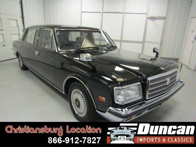 1993 toyota century limousine