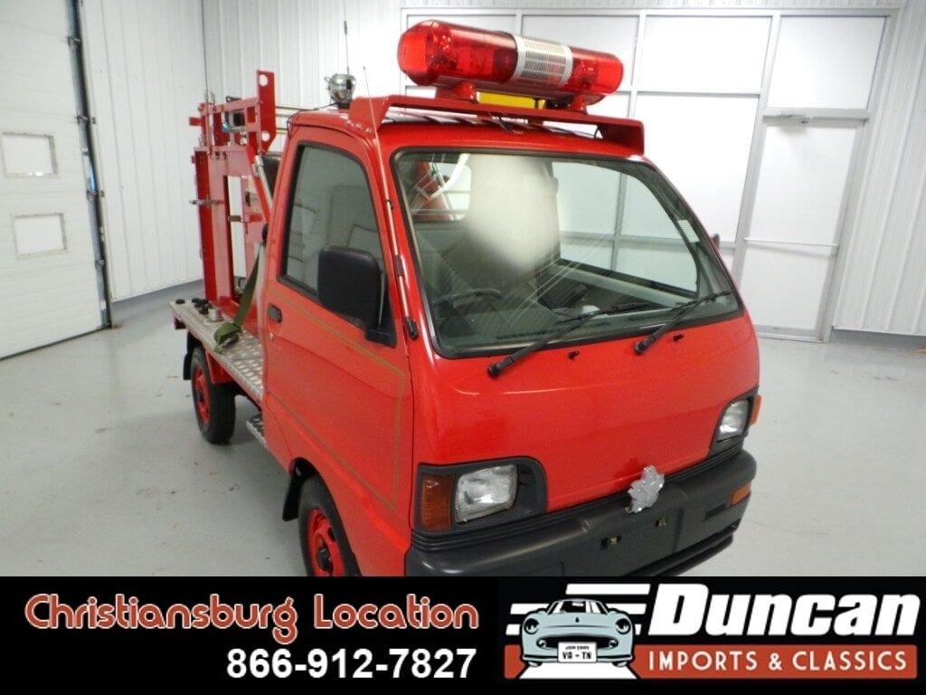 1996 mitsubishi minicab firetruck 4wd