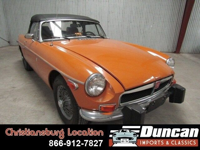 1974 mg mgb mark iii