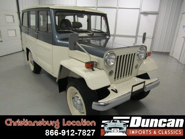 1983 mitsubishi jeep delivery wagon