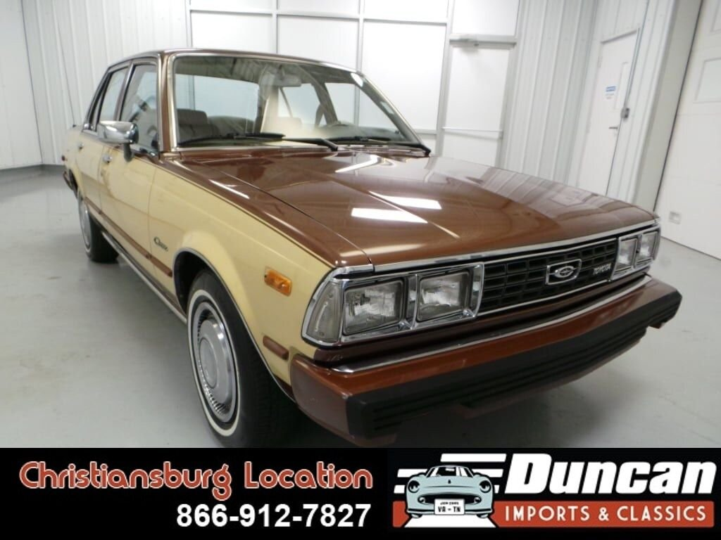 1980 toyota corona luxury edition