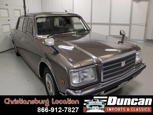 1991 toyota century limousine