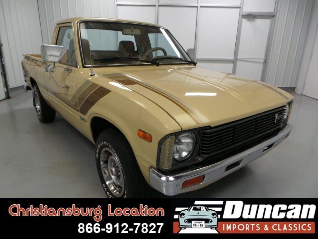1981 toyota 2wd trucks sr5