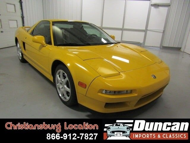 1997 acura nsx t open top