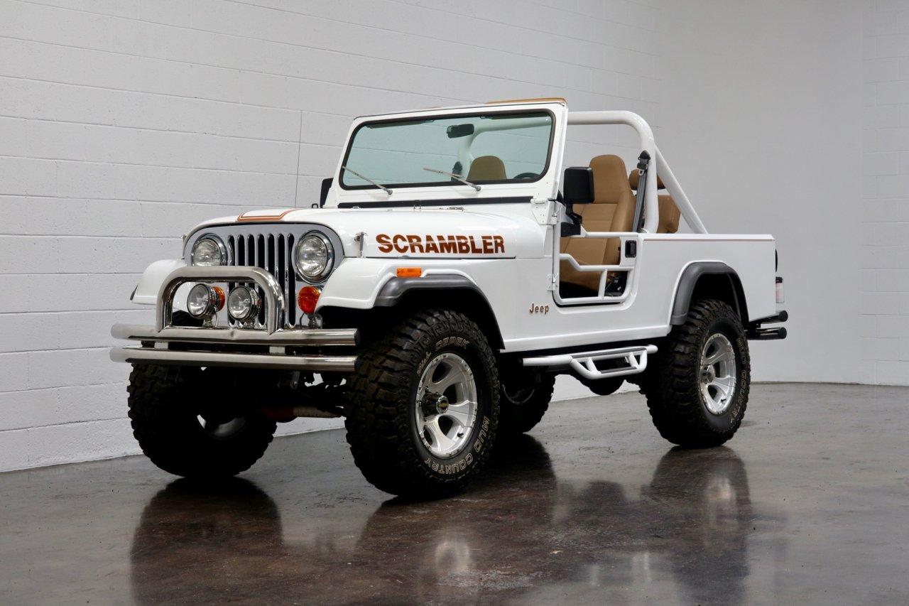 1981 Jeep Scrambler 4x4 For Sale 111416 Motorious