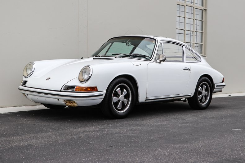 1967 porsche 912 sunroof coupe