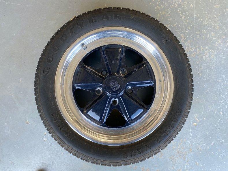 6Jx16 911 Porsche OEM Fuchs Wheels