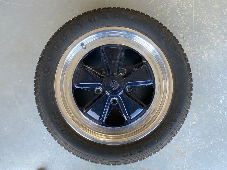 6Jx16 OEM Porsche 911 Fuchs Wheels