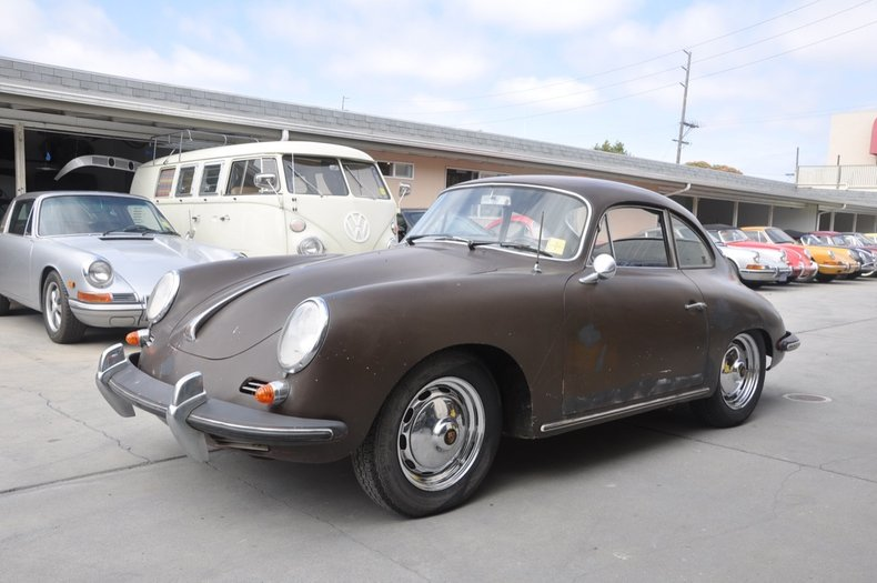 1963 Porsche 356B Super-90 Coupe