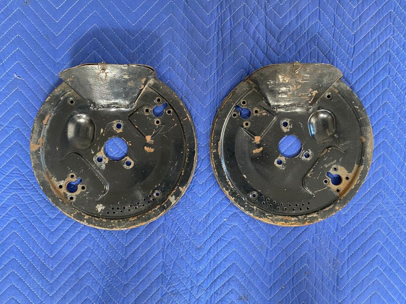 Period 356A GT Ventilated Backing Plates