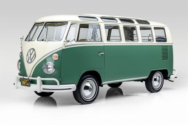 1966 Volkswagen 21 Window Microbus