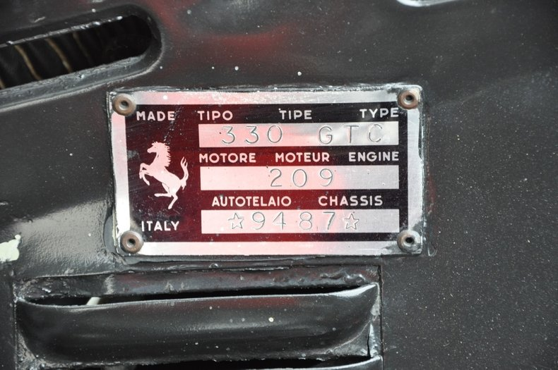 1967 Ferrari 330 GTC   European Collectibles