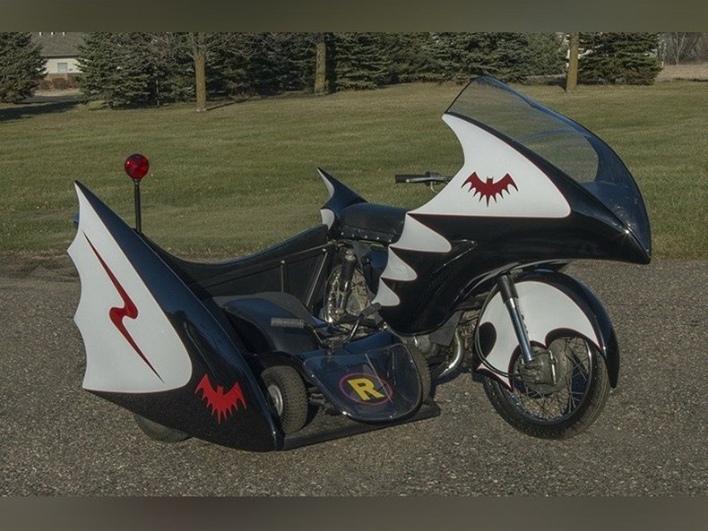 1967 Replica Bat Cycle Yamaha