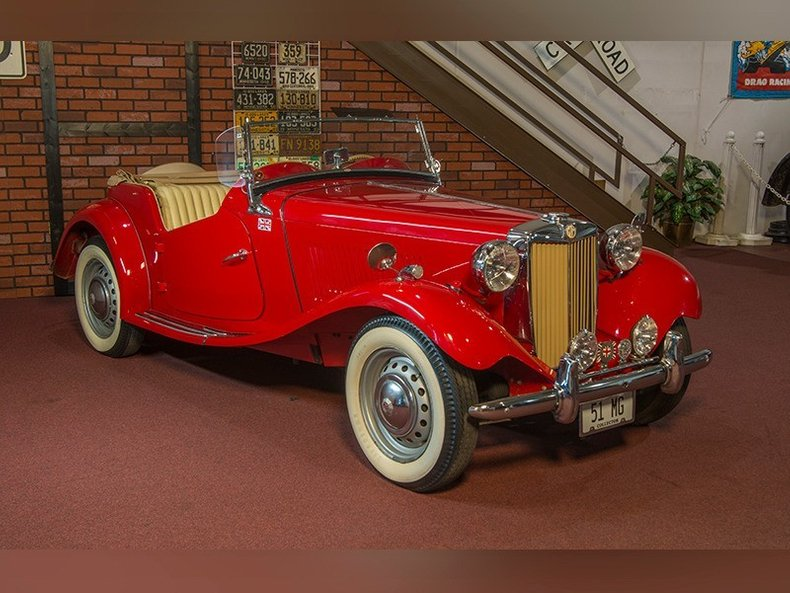 1951 mg td classic car dealer rogers minnesota ellingson motorcars. Black Bedroom Furniture Sets. Home Design Ideas