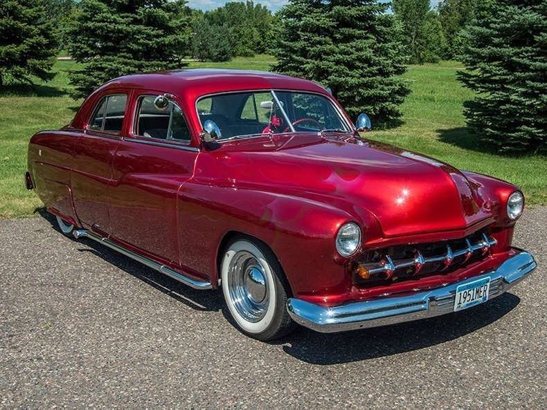 1951 Mercury 4 Door Sport Sedan