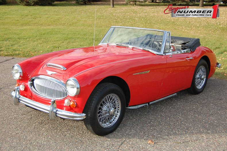 1967 Austin-Healey 3000 MKIII BJ-8