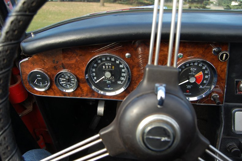 1967 Austin-Healey 3000 MKIII BJ-8 20